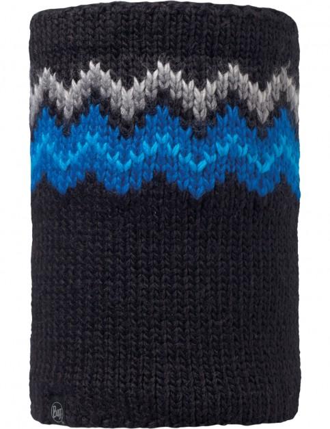 Buff Danke Knitted Neck Warmer in Black