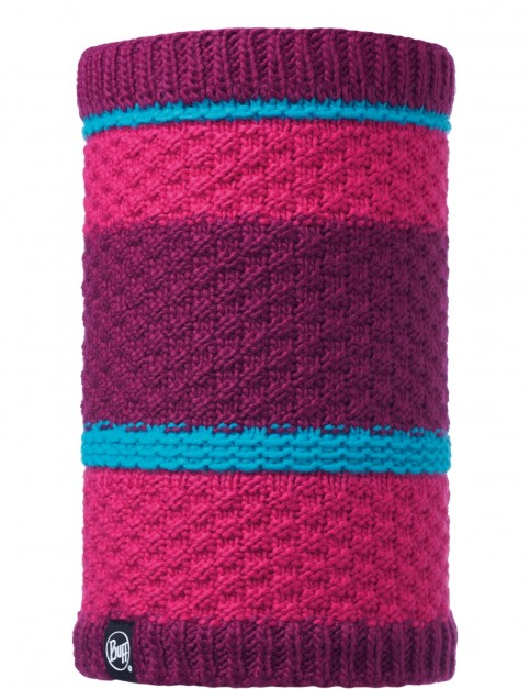 Buff Fizz Knitted Neck Warmer in Pink Honeysuckle