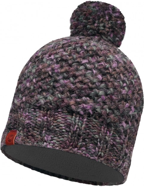 Buff Margo Beanie in Plum/Grey Vigore - Hat