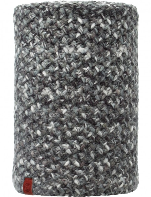 Buff Margo Knitted and Polar Neck Warmer in Grey/Black
