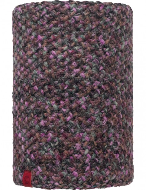 Buff Margo Neck Warmer in Plum/Grey Vigore - Neckwarmer