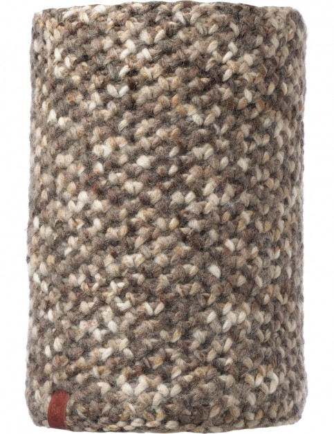 Buff Margo Neck Warmer in Brown Taupe/Grey