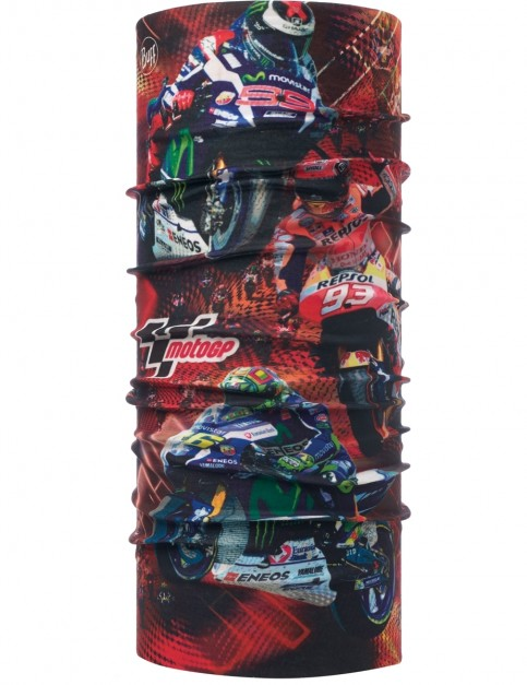 Buff Moto GP Wheelie Neck Warmer in Red