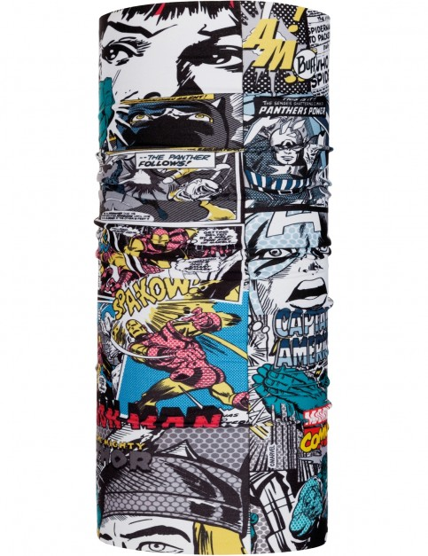 Buff New Original Neck Warmer in Superheroes Comic Pop Power