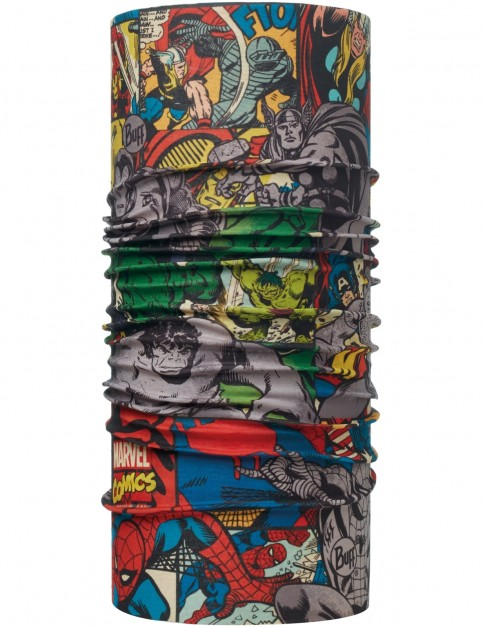 Buff New Original Neck Warmer in Superheroes Heores Multi