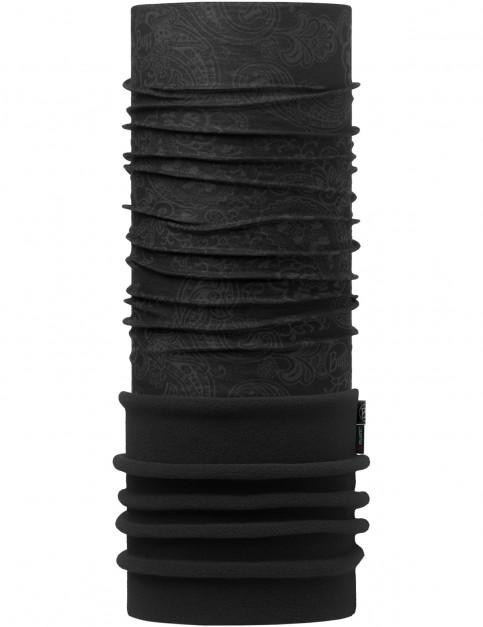 Buff New Polar Neck Warmer in Afgan Graphite/Black
