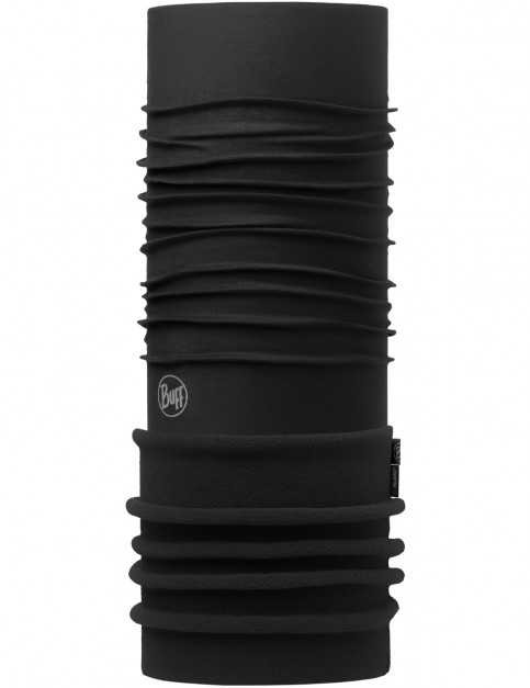 Buff New Polar Neck Warmer in Black/Black