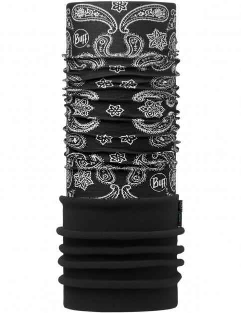 Buff New Polar Neck Warmer in Cashmere Black/Black