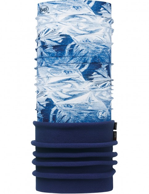 Buff New Polar Neck Warmer in Frost Blue/Navy