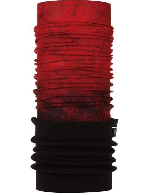 Buff New Polar Neck Warmer in Katmandu Red/Black