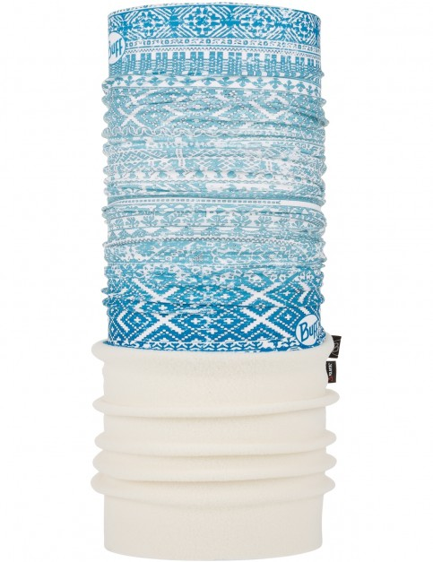 Buff New Polar Neck Warmer in Marken Spirit Aqua/Alabaster