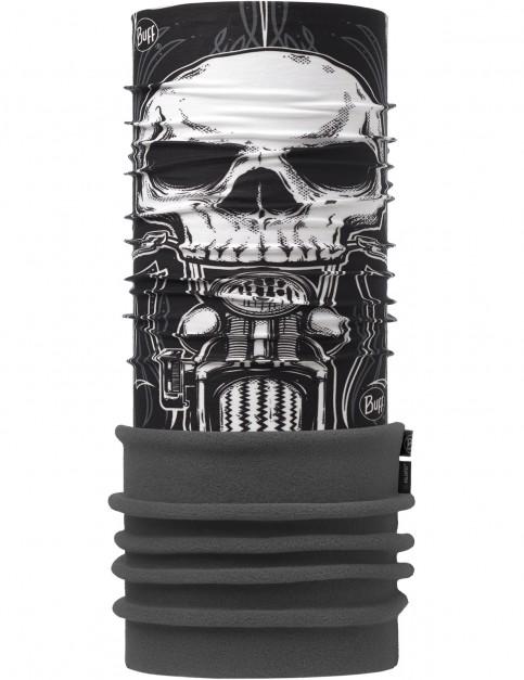 Buff New Polar Neck Warmer in Skull Rider Multi/Grey