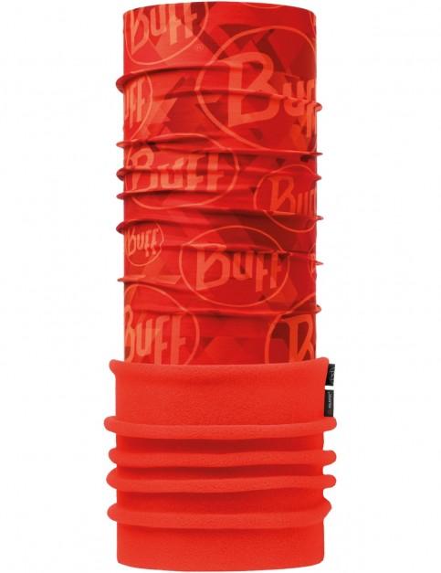 Buff New Polar Neck Warmer in Tip Logo Orange Fluor/Orange