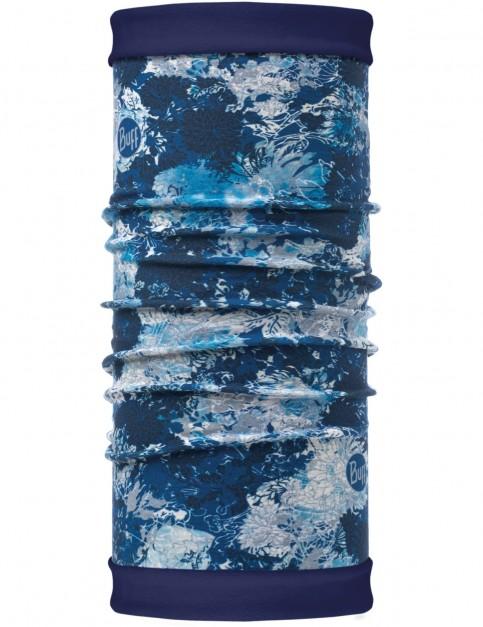 Buff New Polar Reversible Neck Warmer in Winter Garden Blue/Navy