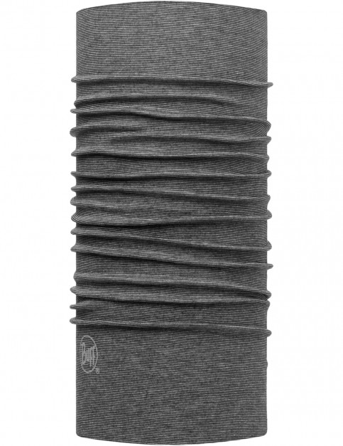 Buff Original Buff Neck Warmer in Yarn Dyed Stripes Grey