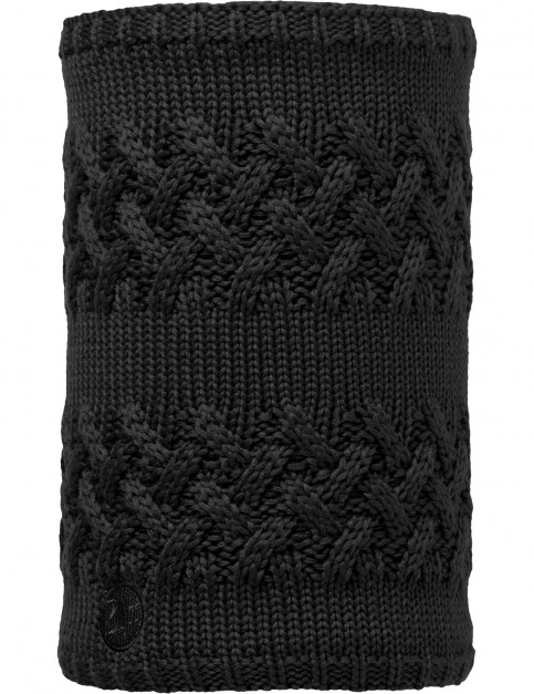 Buff Savva Knitted Neck Warmer in Black