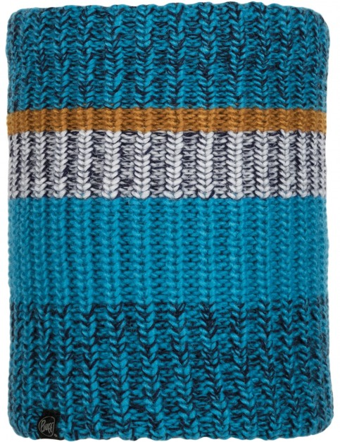 Buff Stig Knitted Neck Warmer in Teal Blue