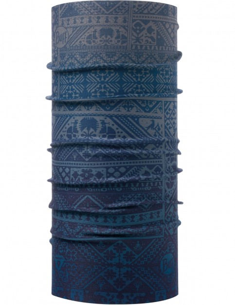 Buff ThermoNet Buff Neck Warmer in Eskor Perfuse Blue