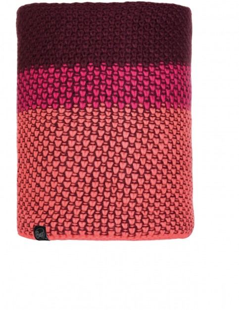 Buff Tilda Knitted Neck Warmer in Bright Pink