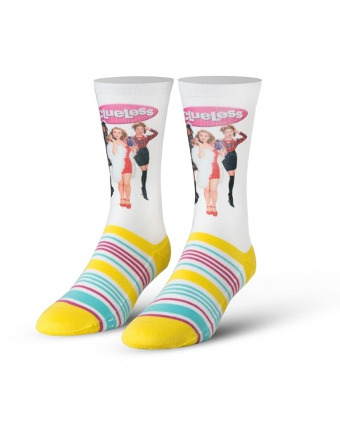 Cool Socks Clueless Crew Socks in Multi