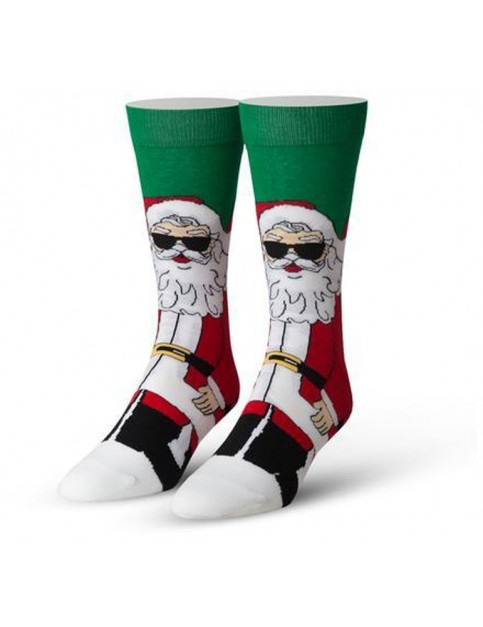 Cool Socks Cool Claus Crew Socks in Multi