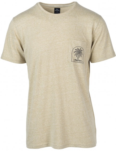 Rip Curl Hyeroback Short Sleeve T-Shirt in Slate Green
