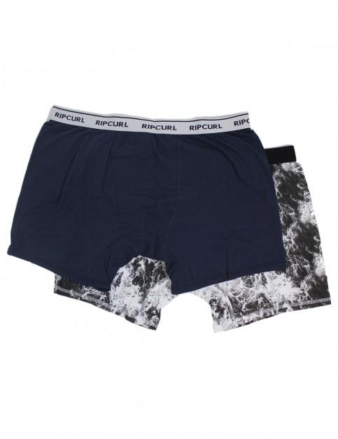Rip Curl Solid & Arty Boxer Underwear in Mood Indigo