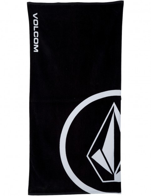 Volcom V Beach Towel in Black
