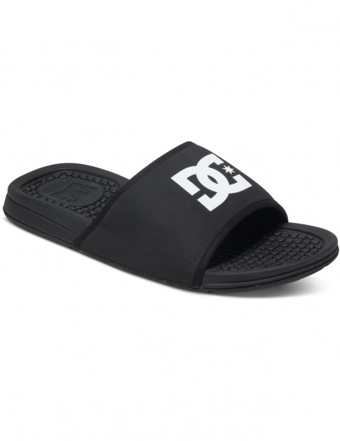 DC Bolsa Canvas Sandals in Black