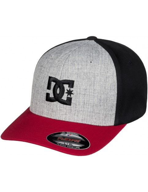 Chili Pepper/Grey Heather DC Cap Star 2 Cap