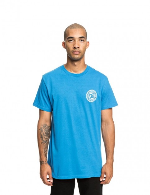 DC Circle Star Short Sleeve T-Shirt in Brilliant Blue