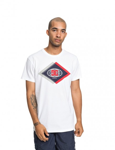 DC Co Defendant Short Sleeve T-Shirt in Snow White