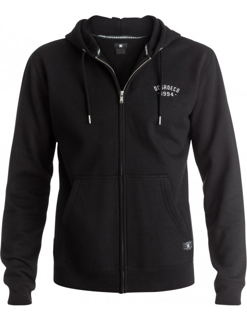 DC Ellis Zipped Hoody in Black