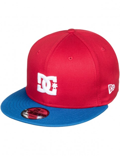 DC Empire Fielder Cap in Racing Red