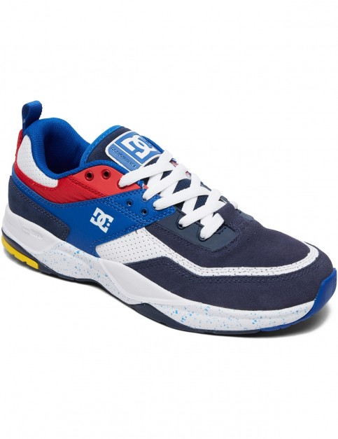 DC E.Tribeka SE Trainers in Black/Blue/Red