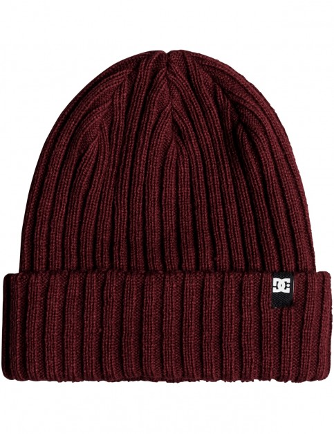 DC Fish N Destroy Beanie in Cabernet