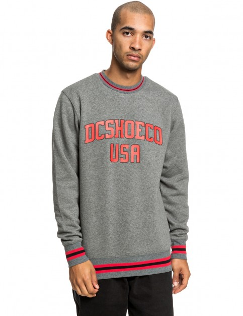 DC Glenridge 2 Sweatshirt in Heather Charcoal