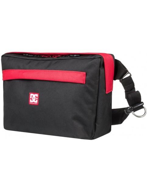 DC Hatchel Satchel Cross Body Bag in Black