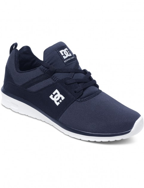 DC Heathrow Trainers in Navy