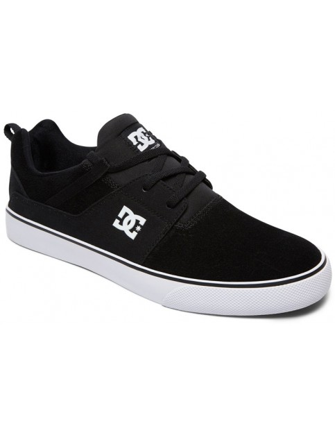 DC Heathrow Vulc Trainers in Black/White