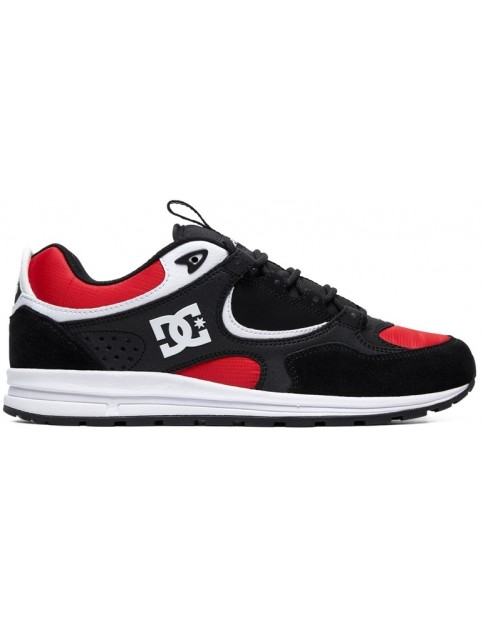DC Kalis Lite Trainers in Black/Athletic Red/White