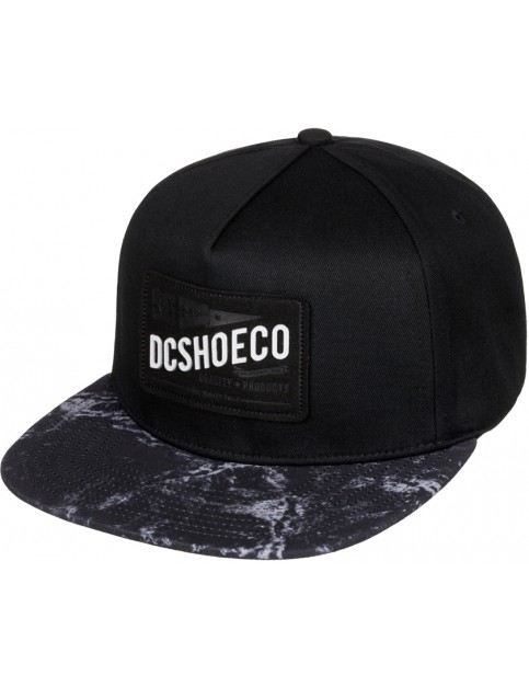 Black DC Leatherstan Cap