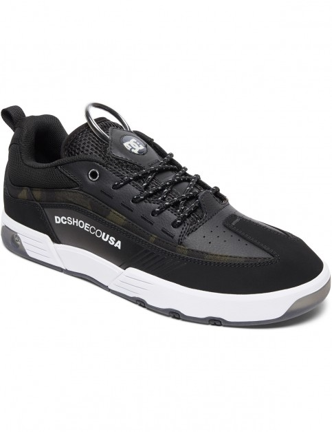 DC Legacy 98 Slim SE Trainers in Black Camo