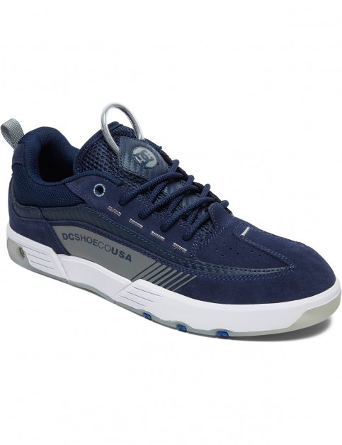 DC Legacy98 Slm S Trainers in Navy/Grey