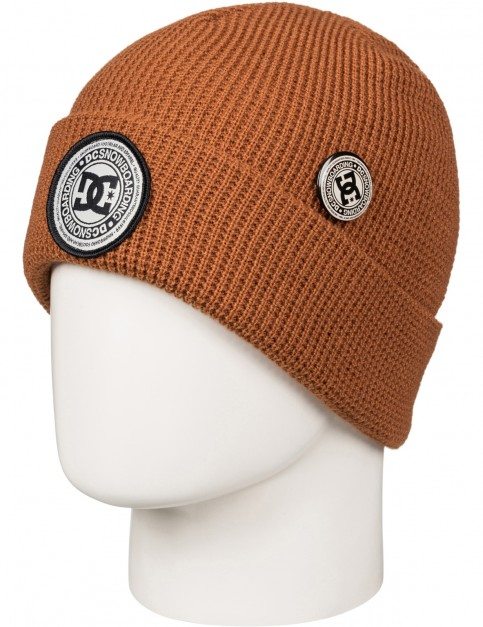 DC Neesh Beanie in Leather Brown