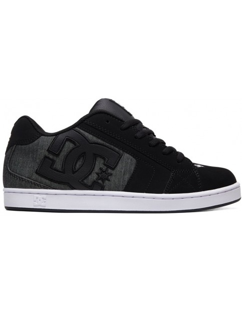 DC Net SE Trainers in Black Resin