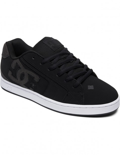 DC Net SE Trainers in Black/Black/Grey