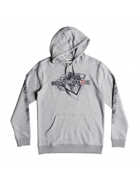 DC Phaser Pullover Hoody in Grey Heather