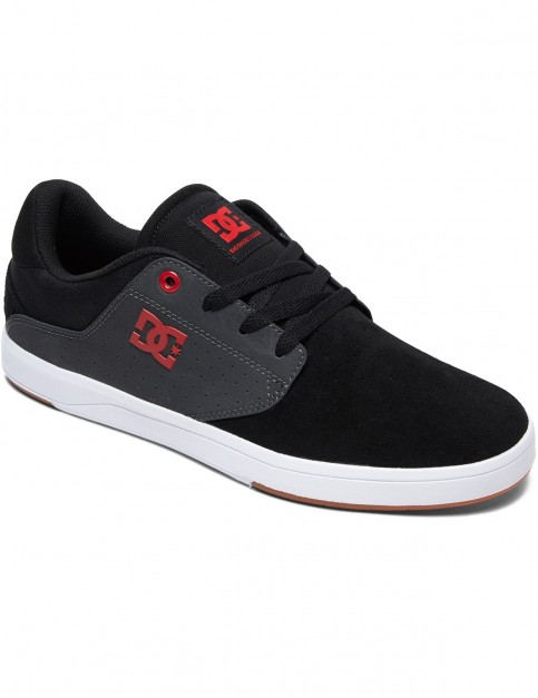 DC Plaza TC S Trainers in Black/Dk Grey/Athlet