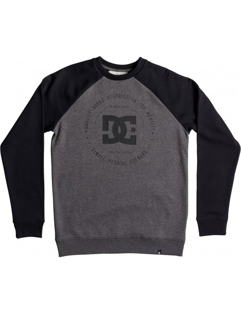 DC Rebuilt 2 Sweatshirt in Charcoal Heather